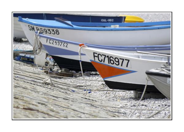 Ses bateaux de pêches