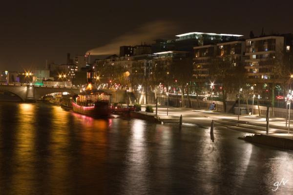 Balade nocturne sur les quais de Seine (3)