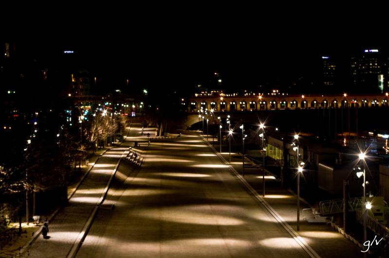 Balade nocturne sur les quais de Seine (4)