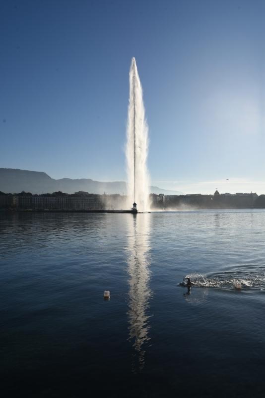 Les baigneurs du Pâquis (Genève)
