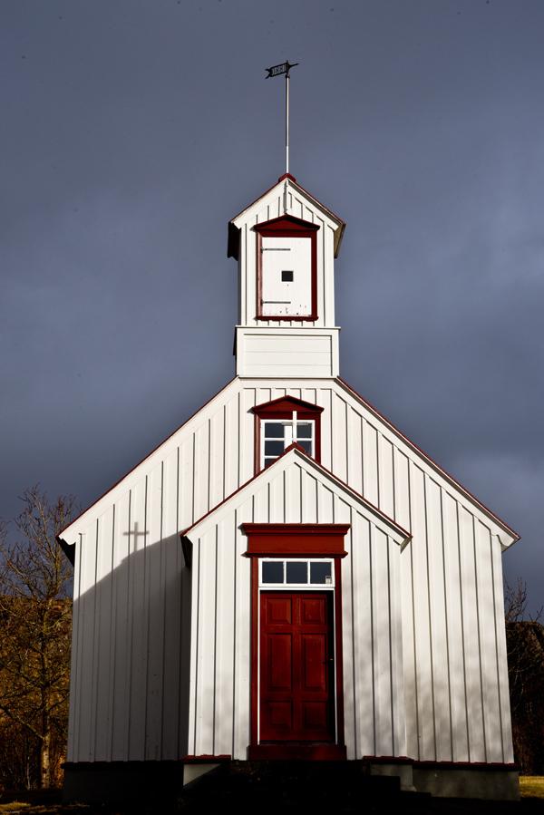 Chapelle à Borgarnes