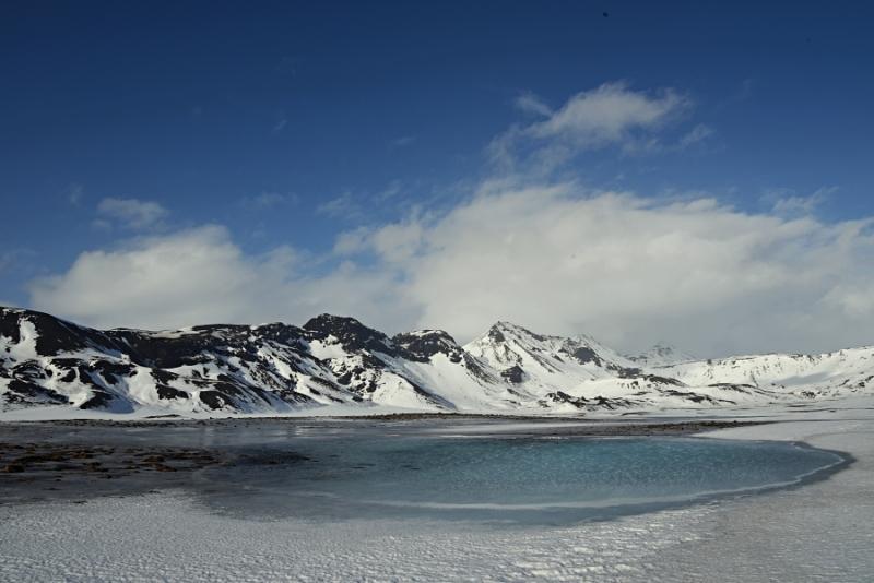 Un monde de glace ... an icy world