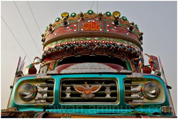 Truck Art - (Front View)