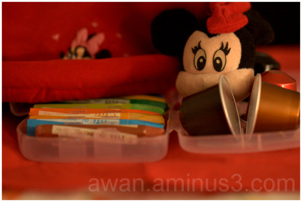 Hidding Mickey