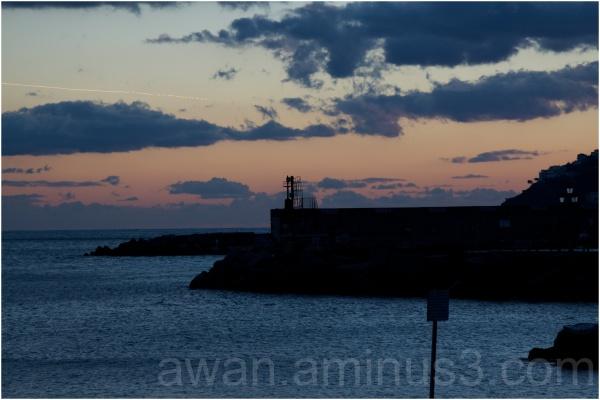 Sunset Amalfi