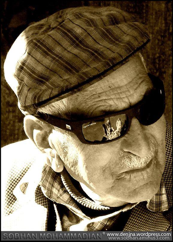 Oldman and sunglass