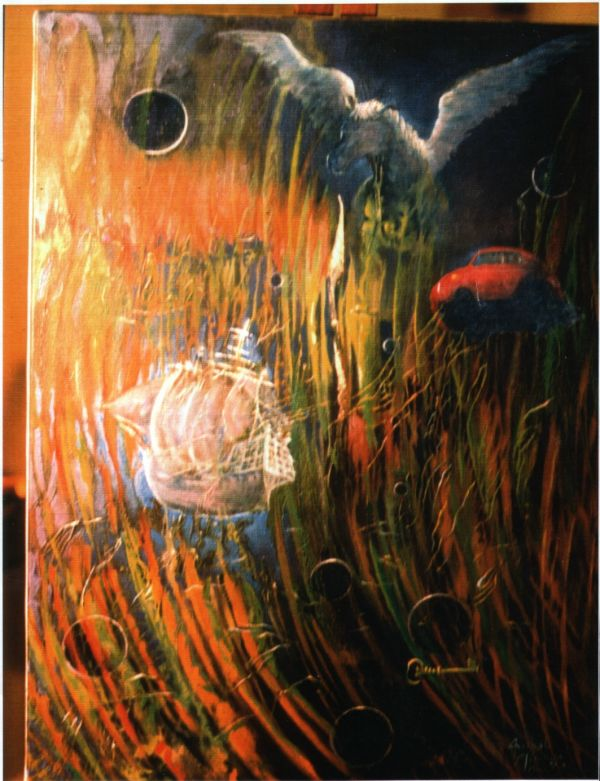 ArteZoG, Anibal Miranda, Artista Chileno, Pinturas