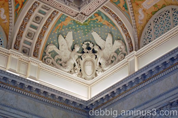 ceiling detail Library of Congress Washington DC