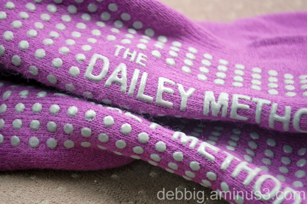 dailey method purple socks