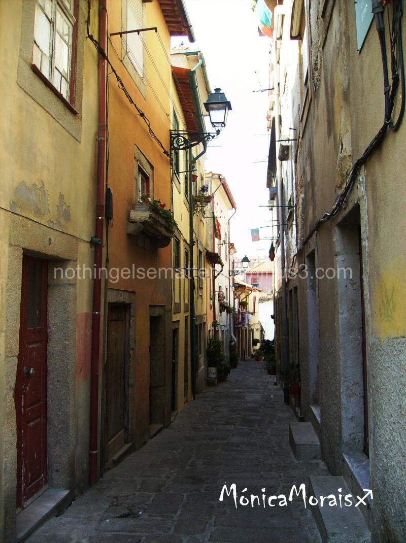 As ruas dos Portuenses...