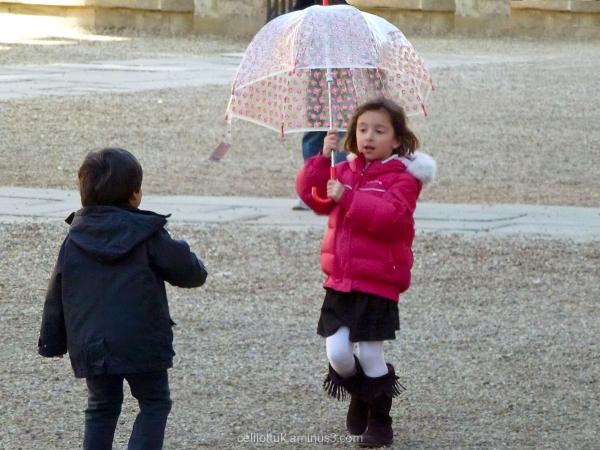 Singing and Dancing, no rain