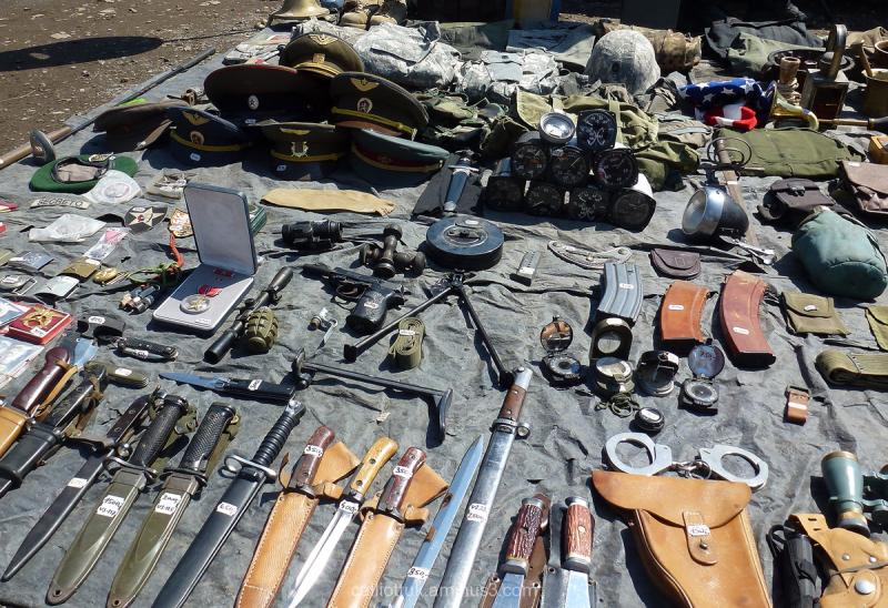 AK47 clip..hand grenade...