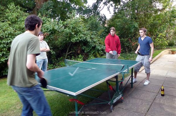 Table tennis ticks