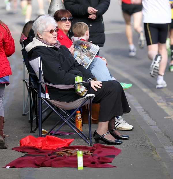 Reading half marathon - watching the sights