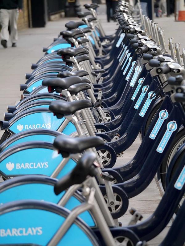 Boris' Barclays Bikes