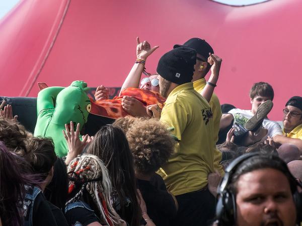 Crowd Surfing - 1