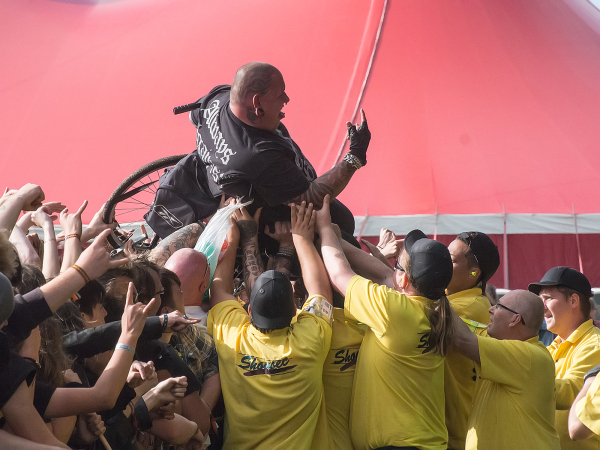 Crowd Surfing - 3