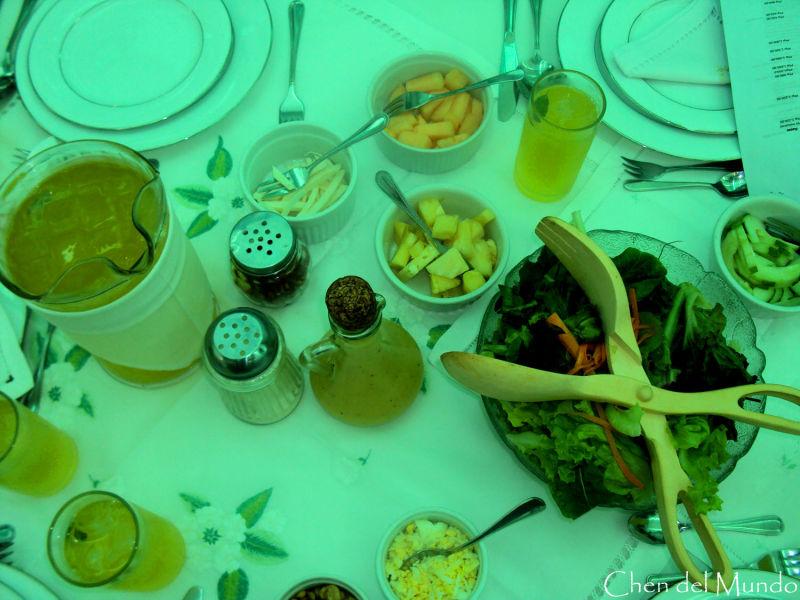 salad at sonya's garden