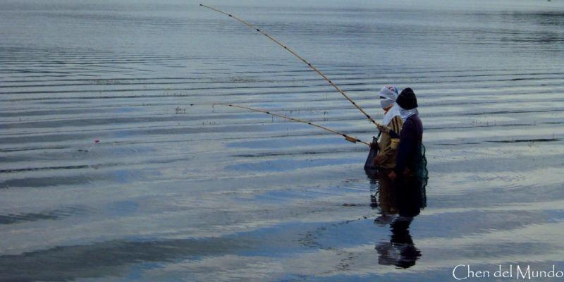 fishing at taal lake
