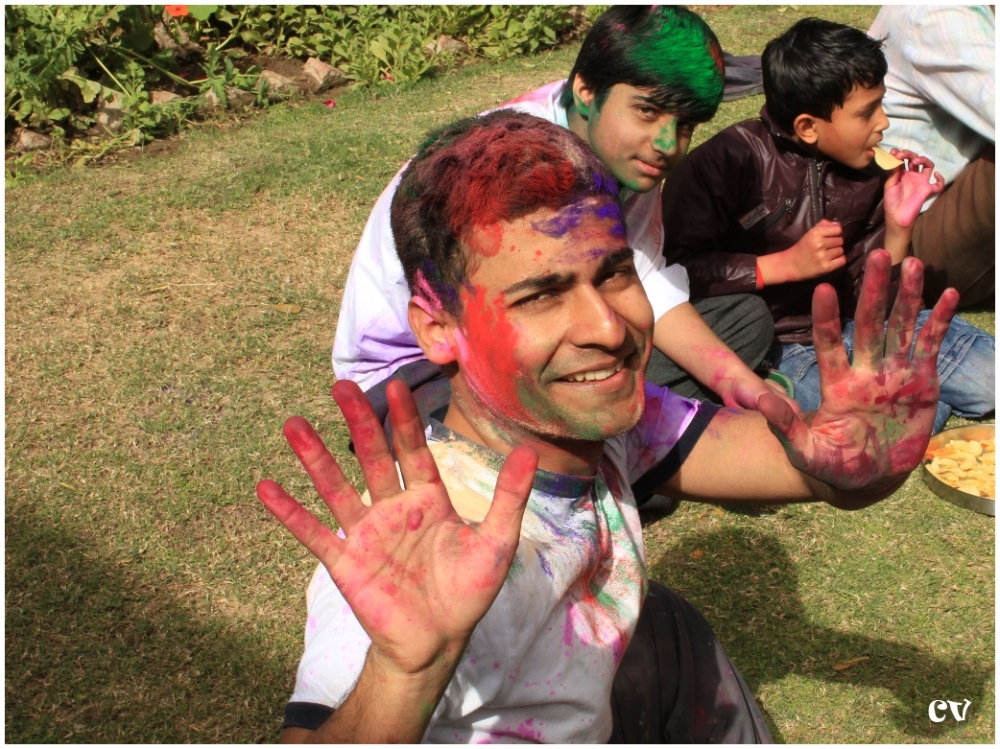 The colors of Holi - 2
