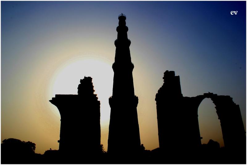 The Qutab Minar - 2, Delhi, India