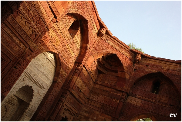 The tomb of Iltutmish (AD 1211-36)
