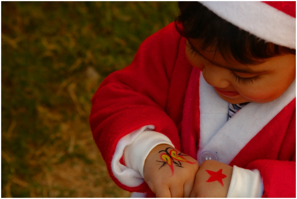 Santa gets a Tattoo