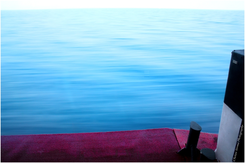 blue andaman water clean air