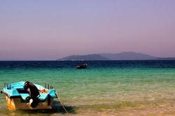 andaman beach clear water blue