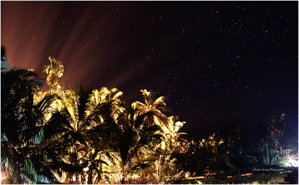 Starry night in Andaman