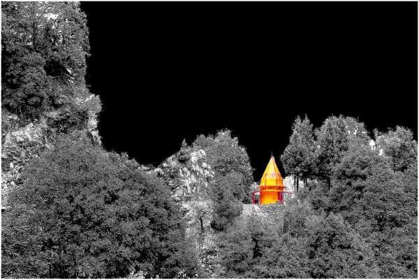 A temple in wilderness
