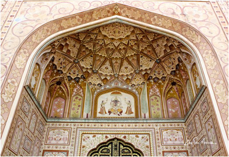 A royal entrance