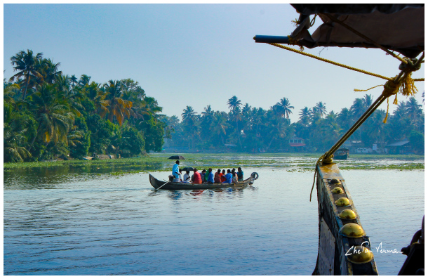 Life along the Kerala backwaters