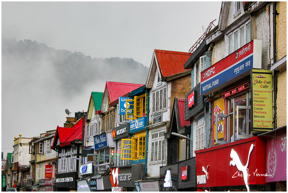 Mall road - Shimla