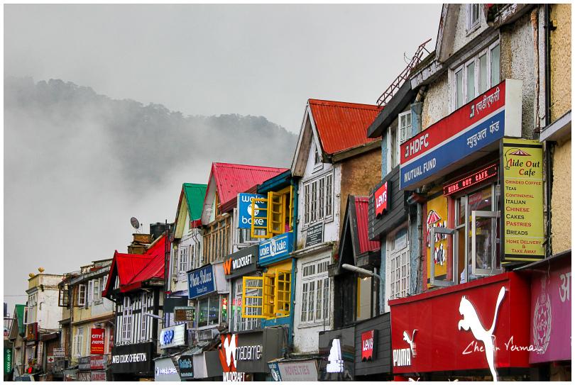 Mall road - Shimla