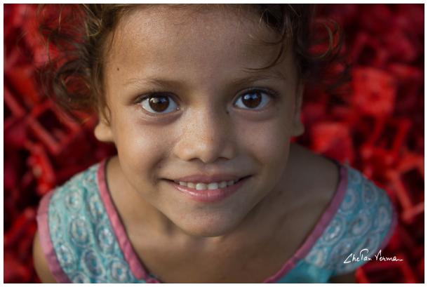 A precious smile