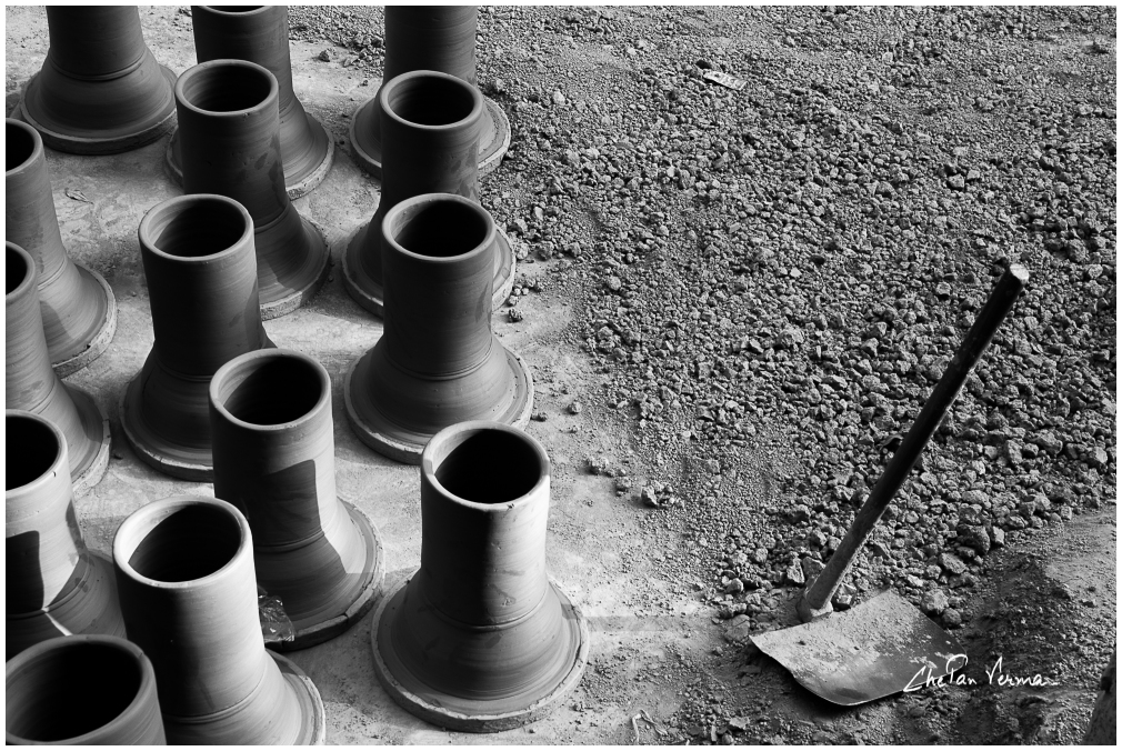 A photowalk to Potters Village, Delhi - #3