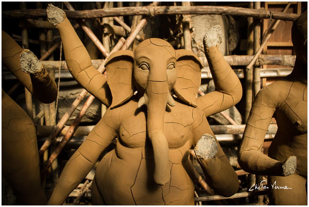 Ganesha in the making