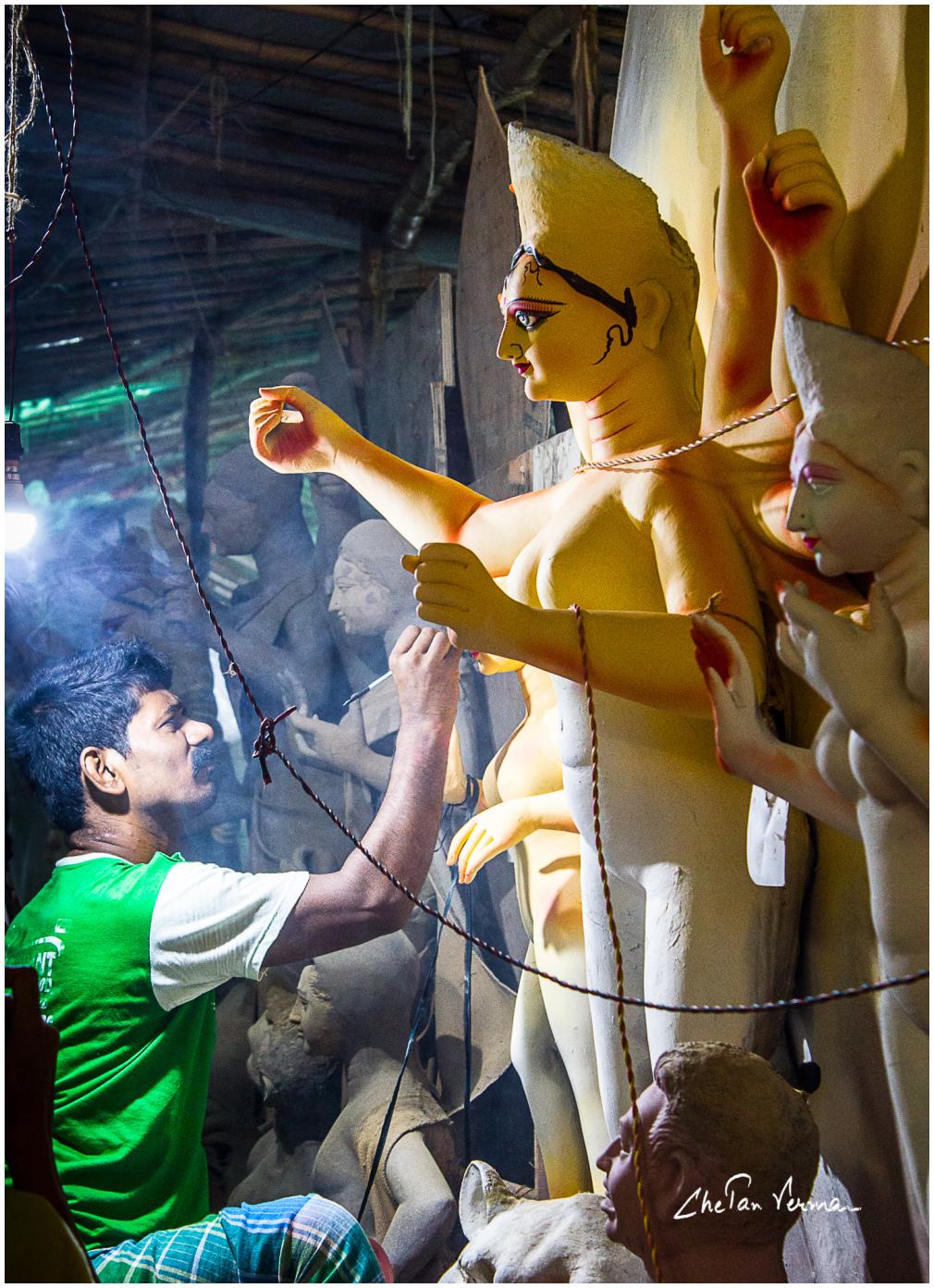 Durga Pooja - Photowalk to CR Park, Delhi - #3