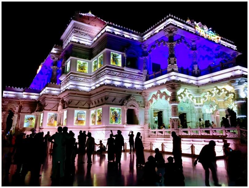 Temple of devotion, Vrindaban, India