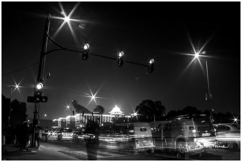 The fifteen second exposure