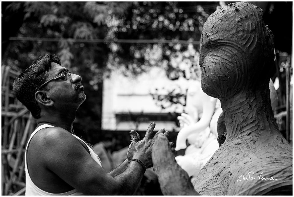 Sculpting God