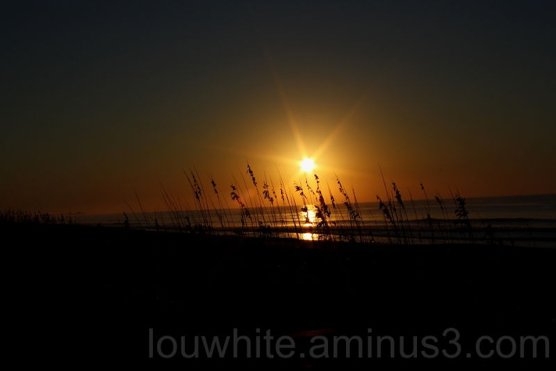 vacation sunrise