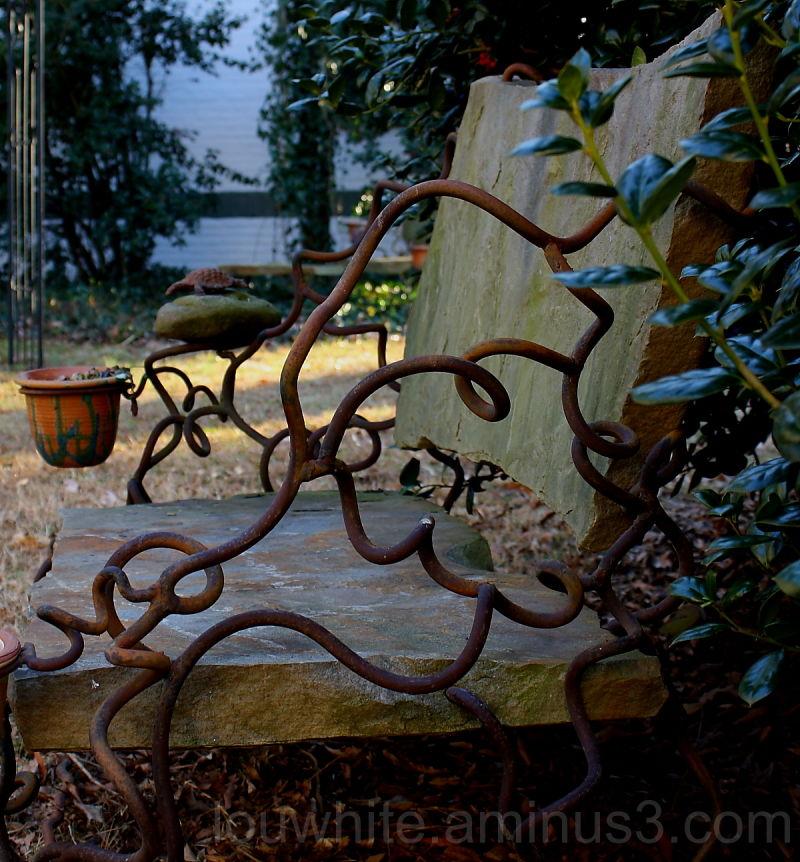 Outdoor bench 2