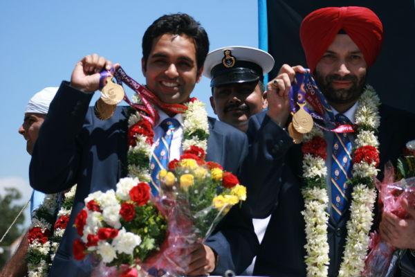 Omkar Singh & Harpeet Singh, Gold medalists in CWG