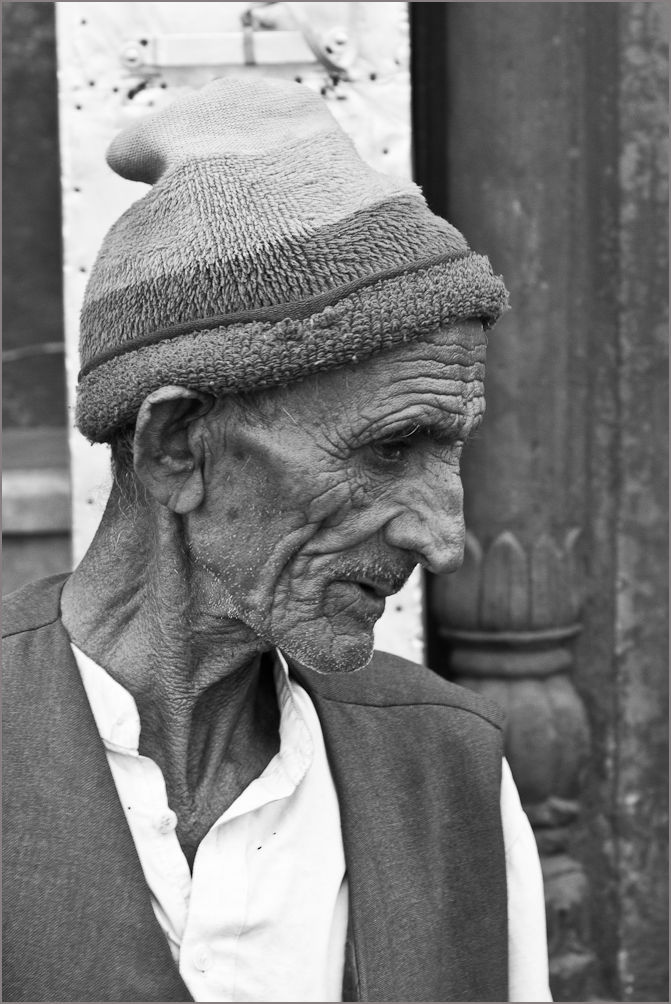 Old Indian man, Delhi