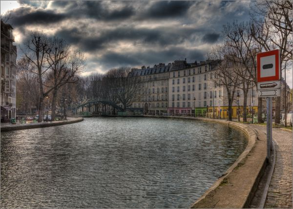 Canal Saint Martin France