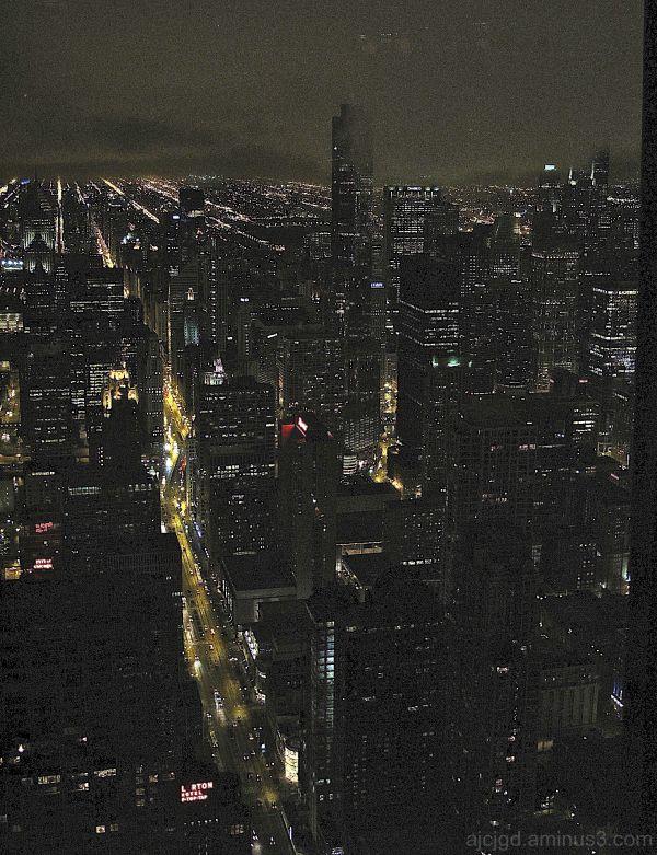 CHICAGO DESDE EL EDIFICIO HANCOCK