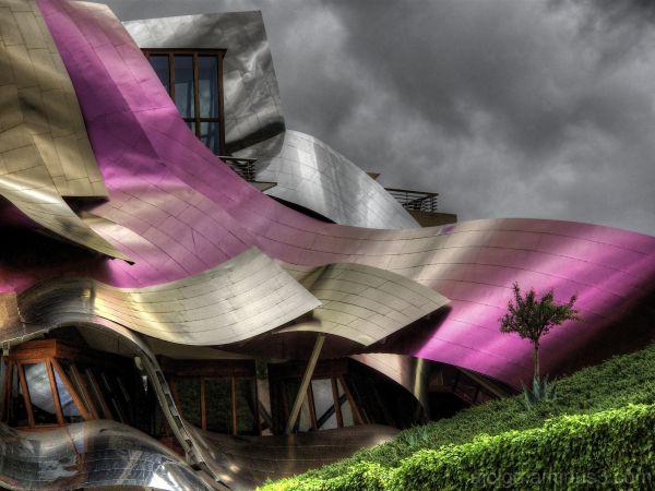 HOTEL DE LA BODEGA MARQUES DE RISCAL