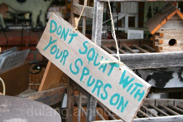 Don't squat-Arizona